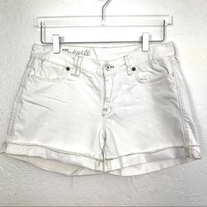 Madewell • Mid Rise Denim Shorts